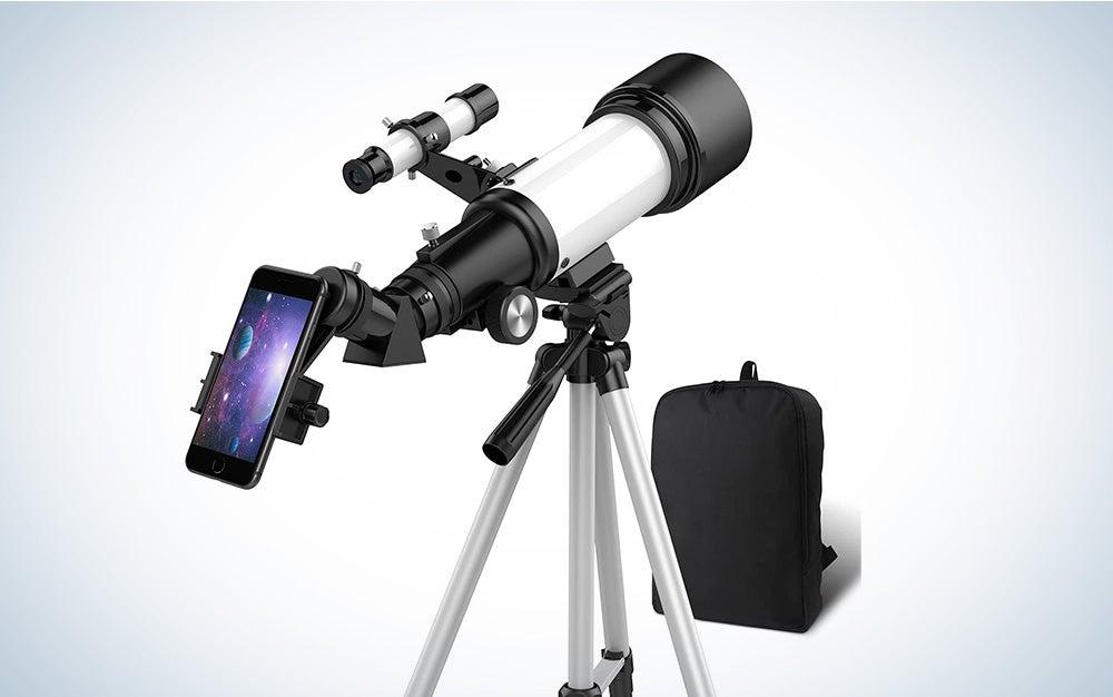 white telescope for beginners