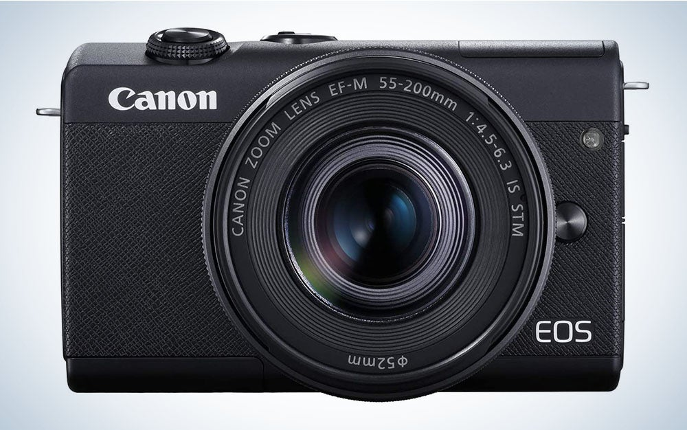 The Canon EOS M200 is the best camera for beginners.