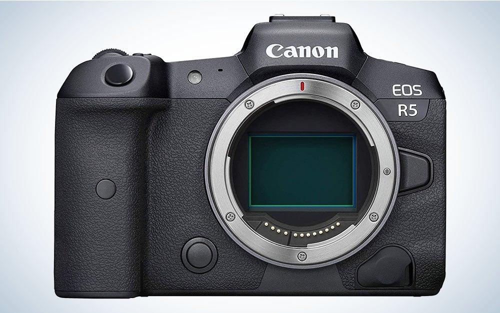 The Canon EOS R5 Full-Frame Mirrorless Camera is the best mirrorless Canon camera.