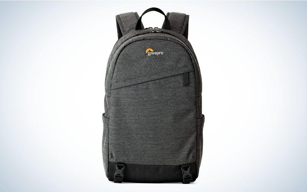 The Lowepro m-Trekker is the best camera backpack for travel.