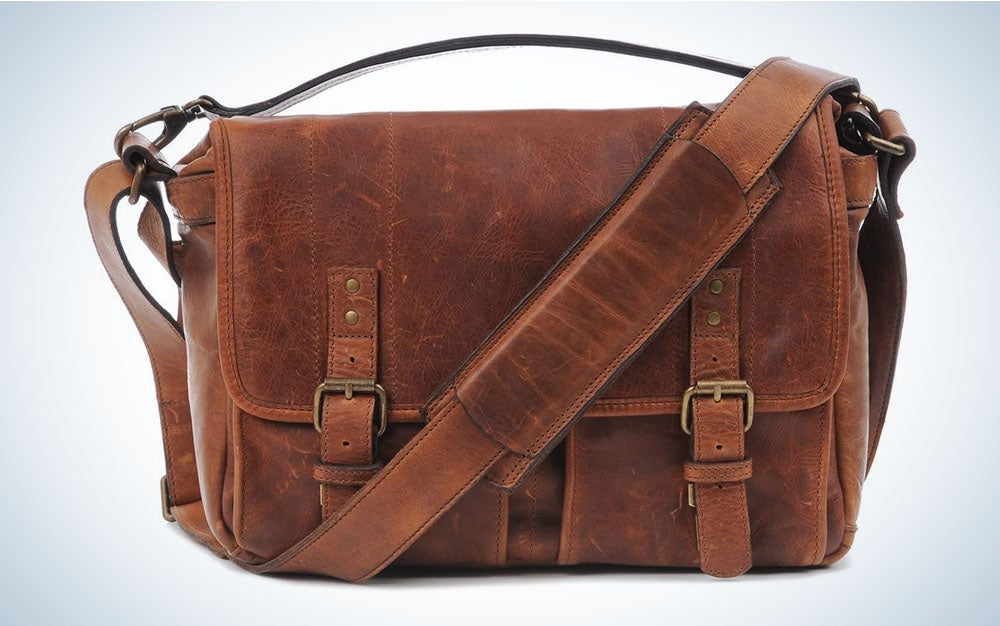 The ONA Camera Messenger Bag is the best fashion travel camera case.
