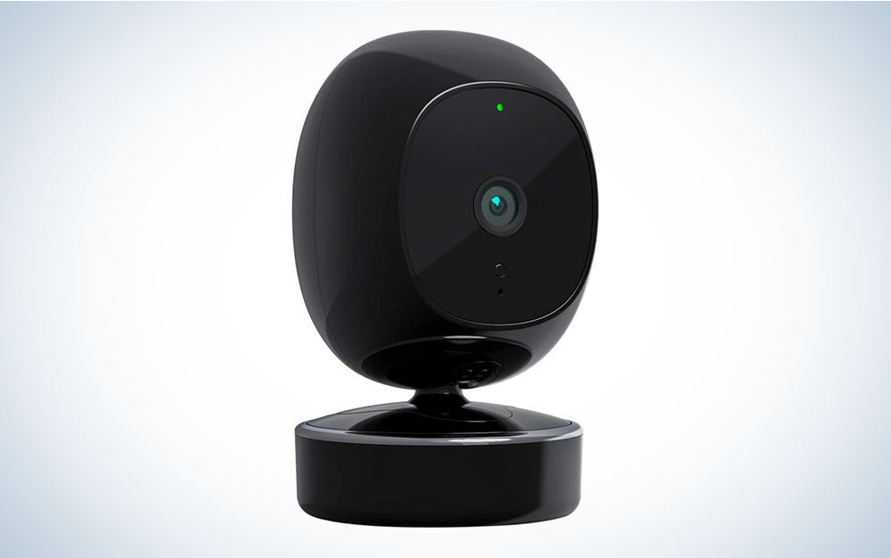 The SimCam 1S indoor security camera is the best pet camera with a great view.