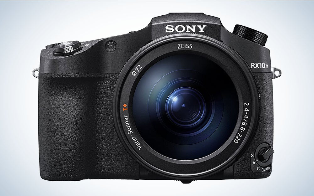 The Sony Cyber‑Shot RX10 IV is the best camera with long-zoom range.