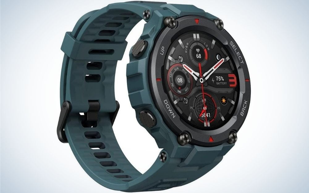The AmazFit T-Rex Pro Smartwatch is the best gift for athletic dads.