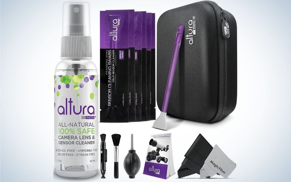 The Altura Photo Professional Camera Cleaning Kit is the best gift for keeping equipment clean.