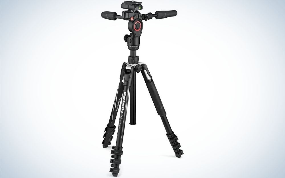 The Manfrotto Befree Camera Tripod Kit is the best gift for shooters on the go.