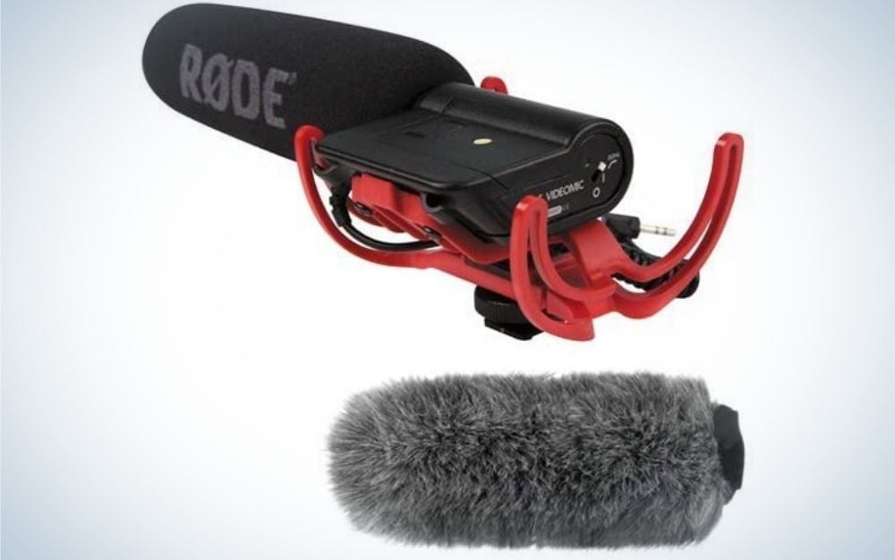 The RodeVideoMic is the best gift for capturing better audio.