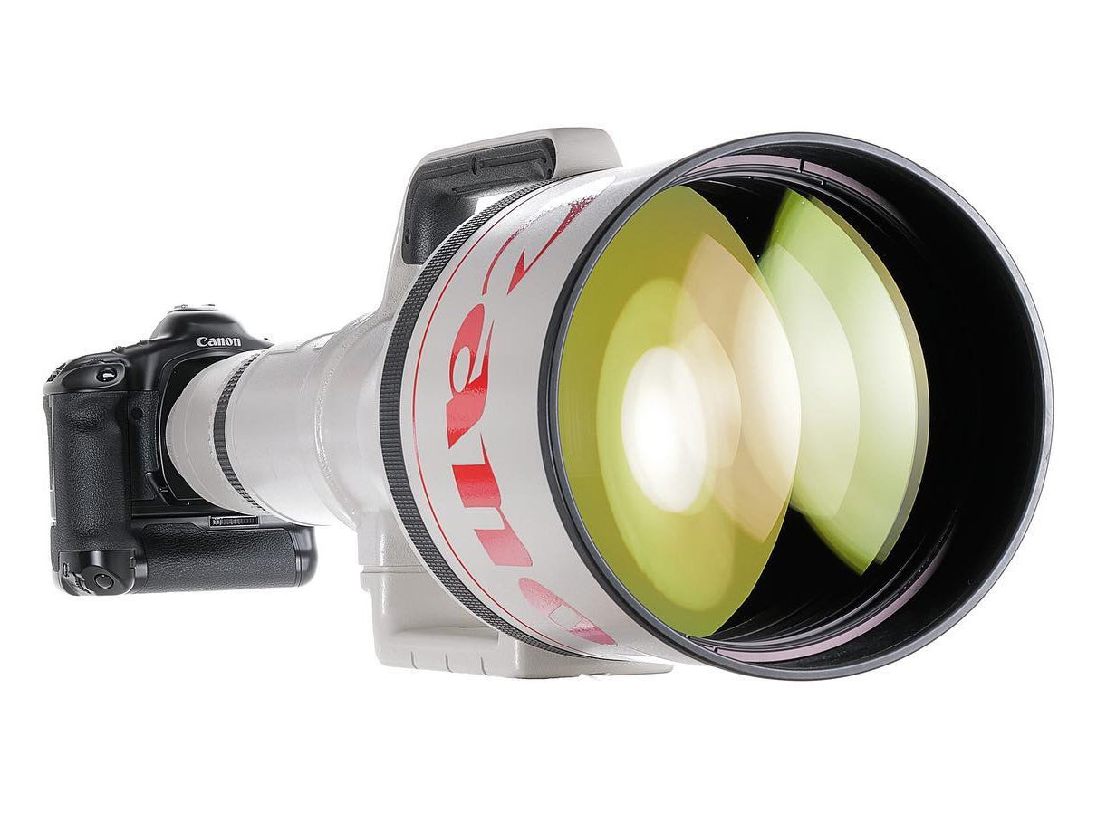 Rare Canon 1200mm lens