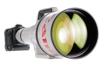 Let's all chip in and buy the super-rare Canon EF 1,200mm f/5.6 lens at auction