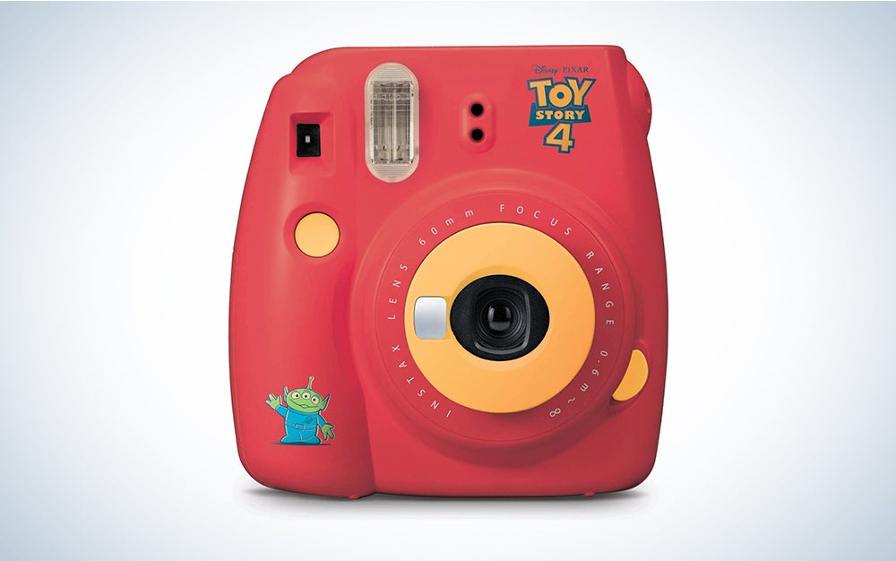 red toy story instant camera