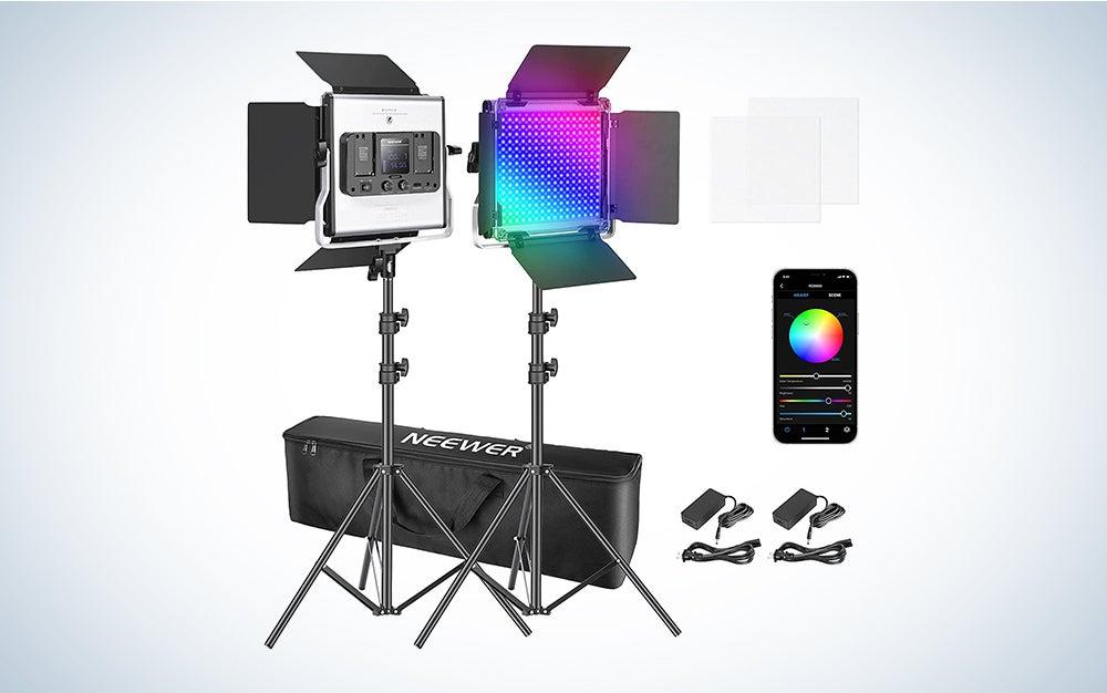 neewer lighting kit deal