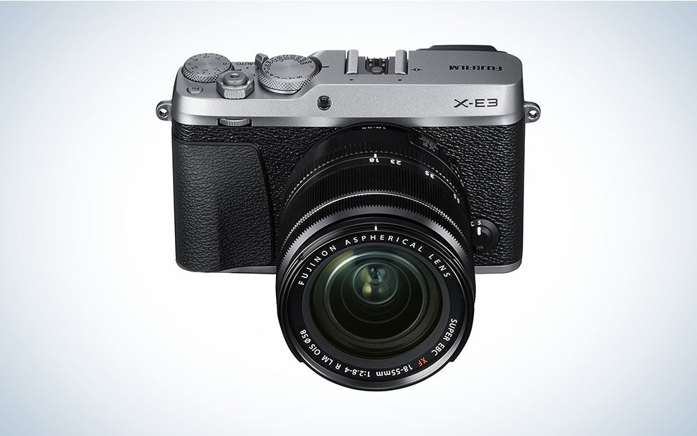 The Fujifilm X-E3 kit is the best mirrorless camera deal for most people on Amazon Prime Day 2021.