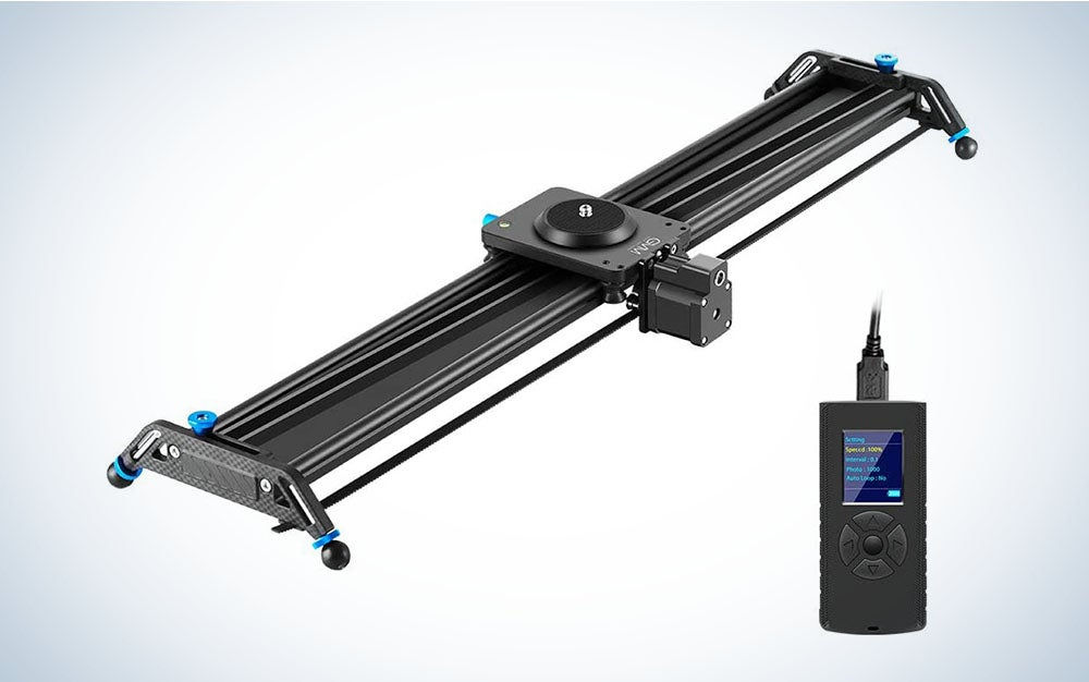 The GVM Motorized Camera Slider is the Best way to make your movies look more professional.