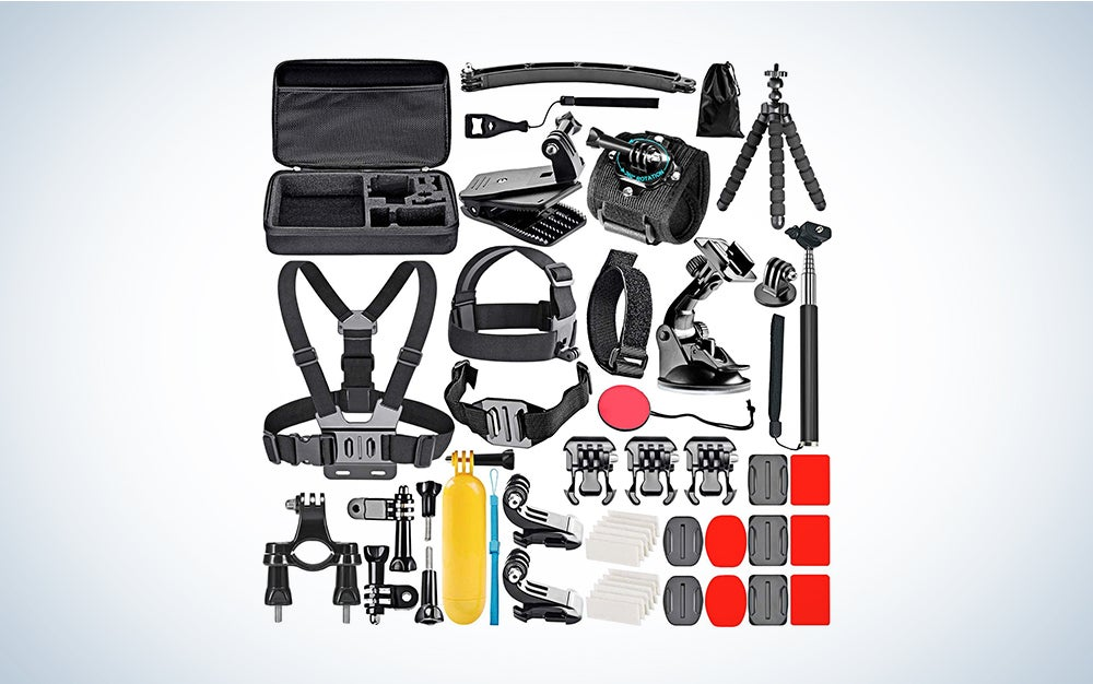action cam accessories deal
