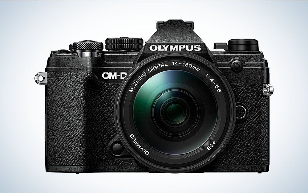 The Olympus OM-D E-M5 Mark III kit is the Best Prime Day mirrorless camera deal for outdoor photographers.