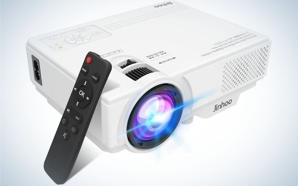 Save with our best budget projector, the Jinhoo Mini Projector.