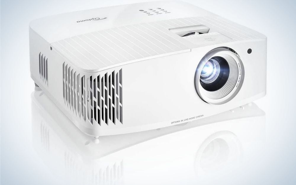 The Optoma UHD35 is our pick for best gaming projector.