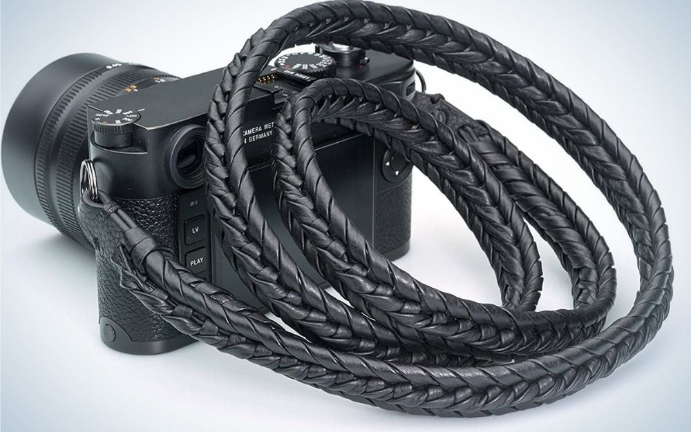 Vi Vante is our pick for best braided leather camera strap.