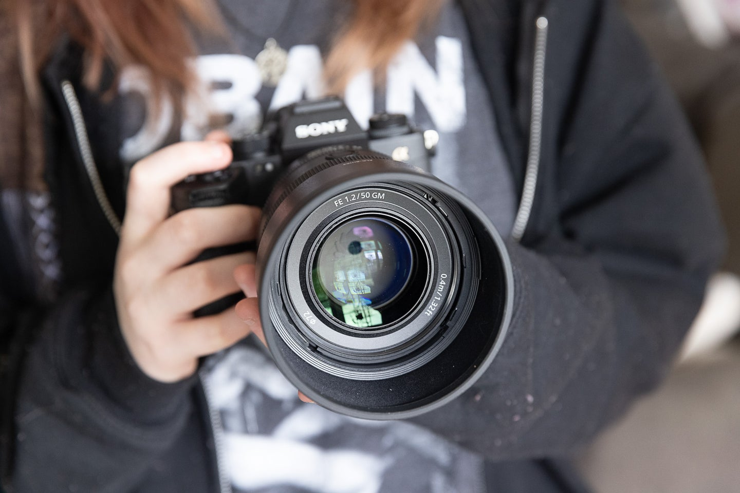Sony 50mm f/1.2 GM lens on a Sony A1