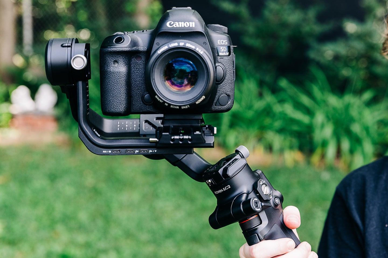 DJI RSC 2 gimbal with camera