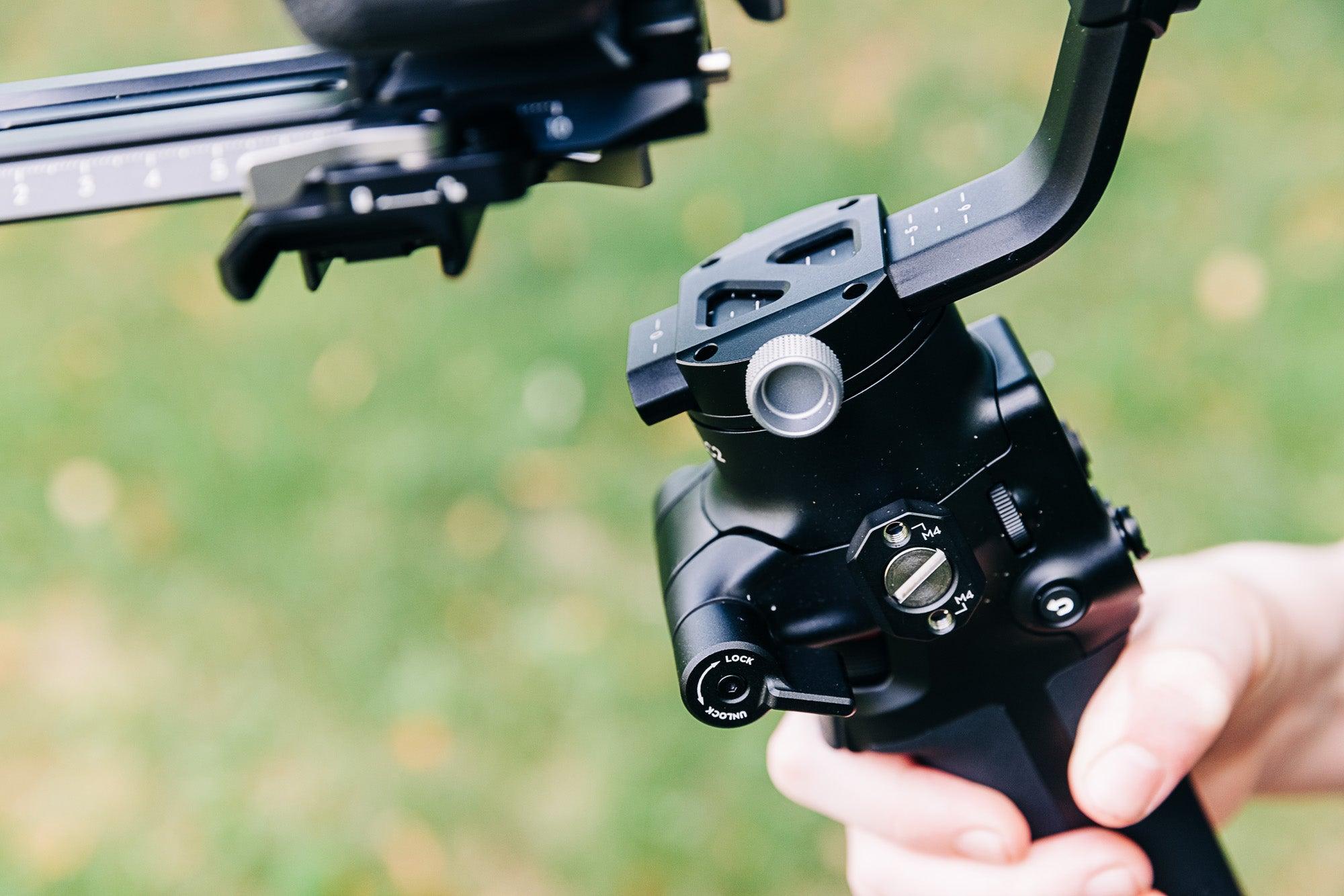 DJI RSC 2 gimbal thumb screws