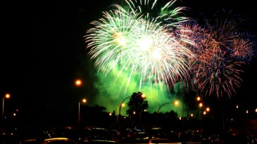 tips for photographing fireworks