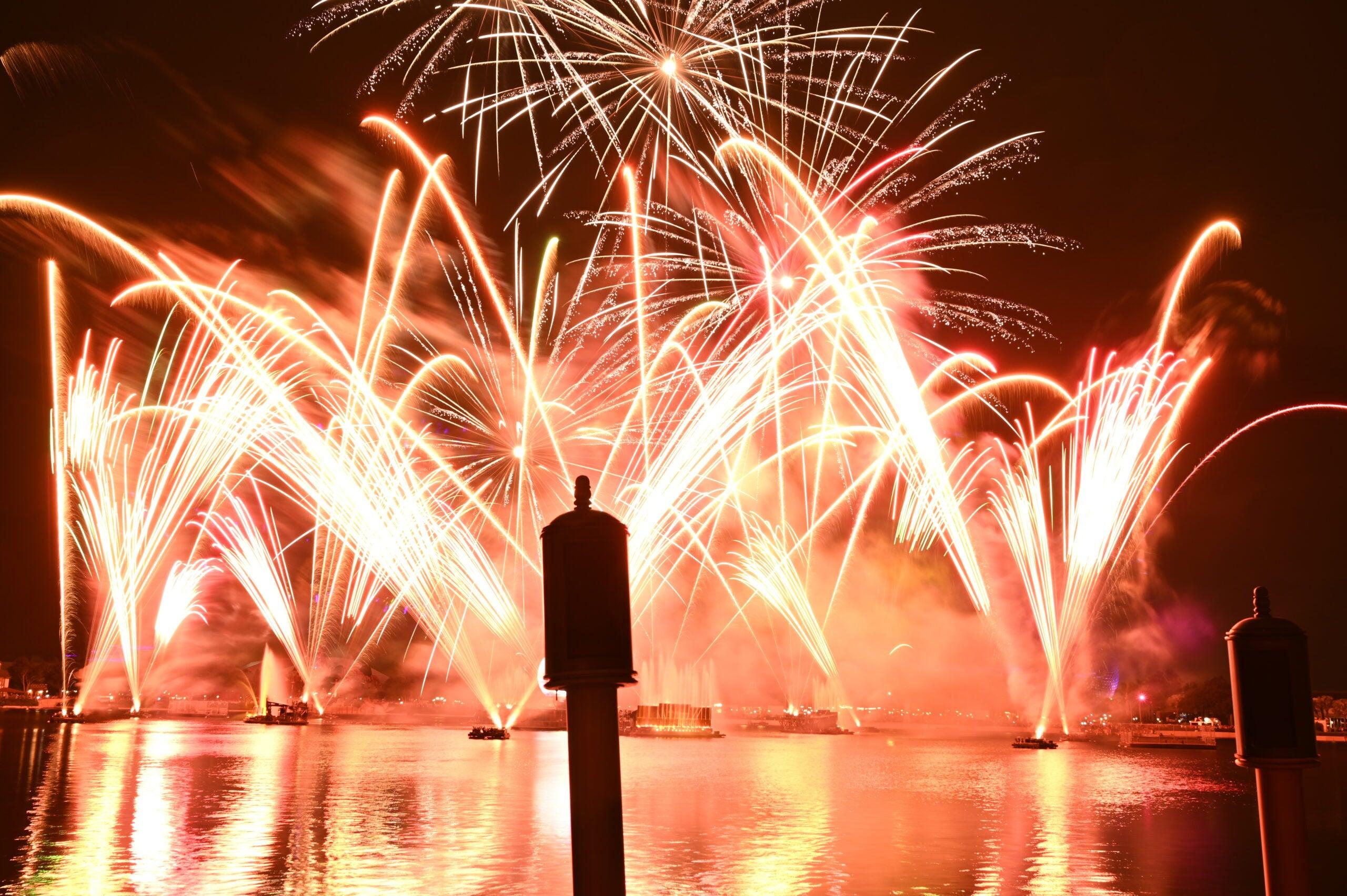 Capture raw fireworks photos