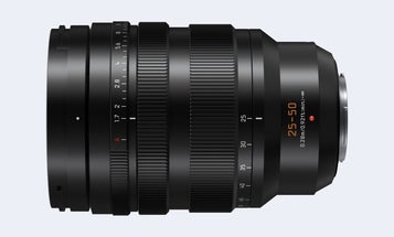 New gear: The Panasonic Lumix Leica DV Vario-Summilux 25-50mm f/1.7 ASPH zoom lens promises fancy focusing