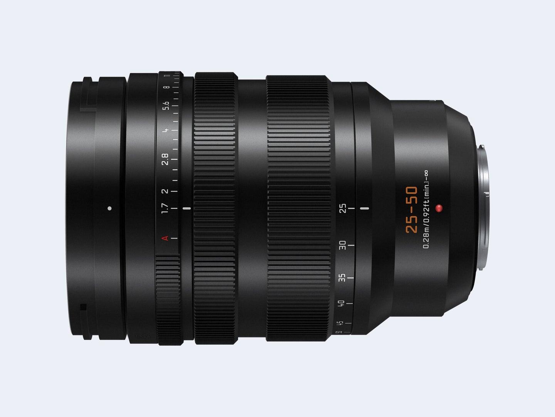 The Panasonic Lumix Leica DV Vario-Summilux 25-50mm f/1.7 ASPH