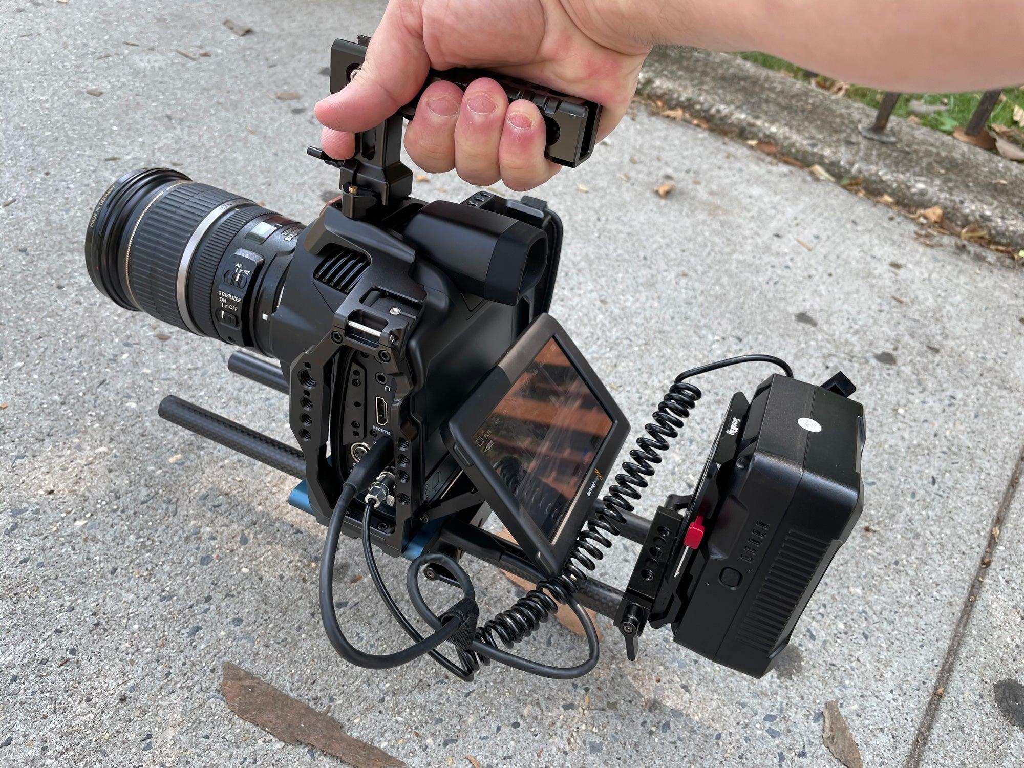 BMPCC 6k Pro with lens