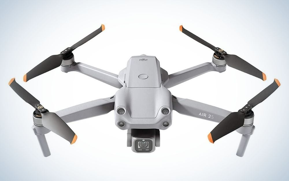 The DJI Air 2S is the best drone for professional photographers and videographers.