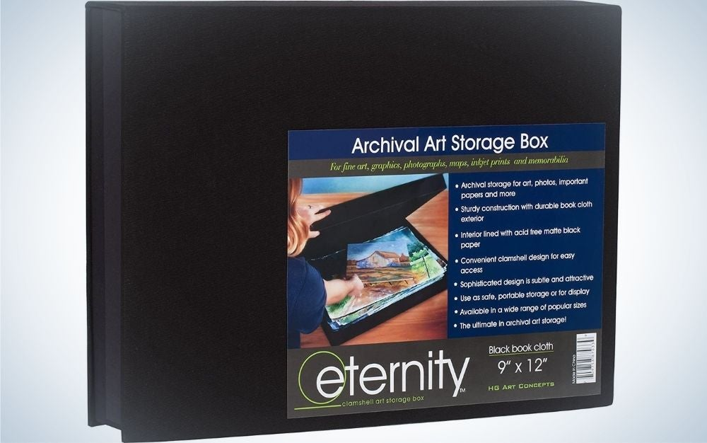HG Concepts' Art Photo Storage Box is the best storage for photographic prints.