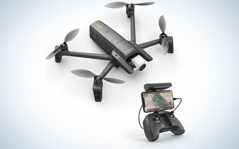The Parrot Anafi Drone is the best for travelers.