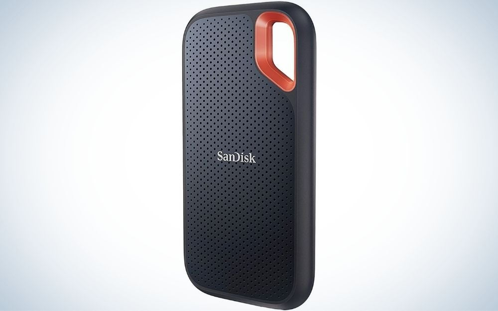 The SanDisk 1TB Extreme Portable SSD is one of the best photo storage solutions when you're on the road.