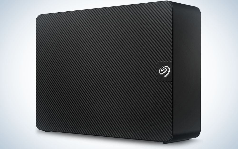 The Seagate Expansion 12TB External Hard Drive provides the best HDD storage.