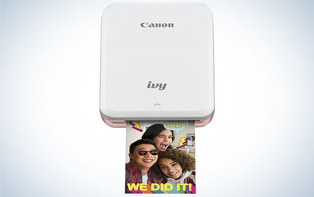 The Canon IVY Mini Photo Printer for Smartphones is our pick for best portable printer for teens.