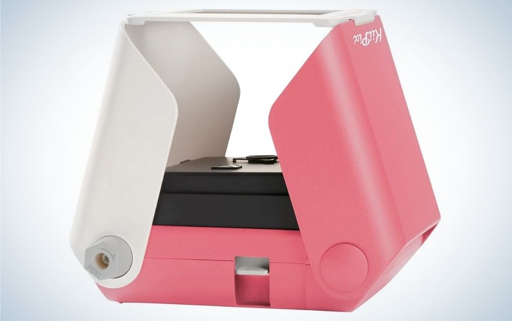 The KiiPix Printer and Photo Scanner is the best for crafters.