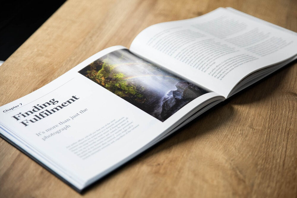 A self-published photography book