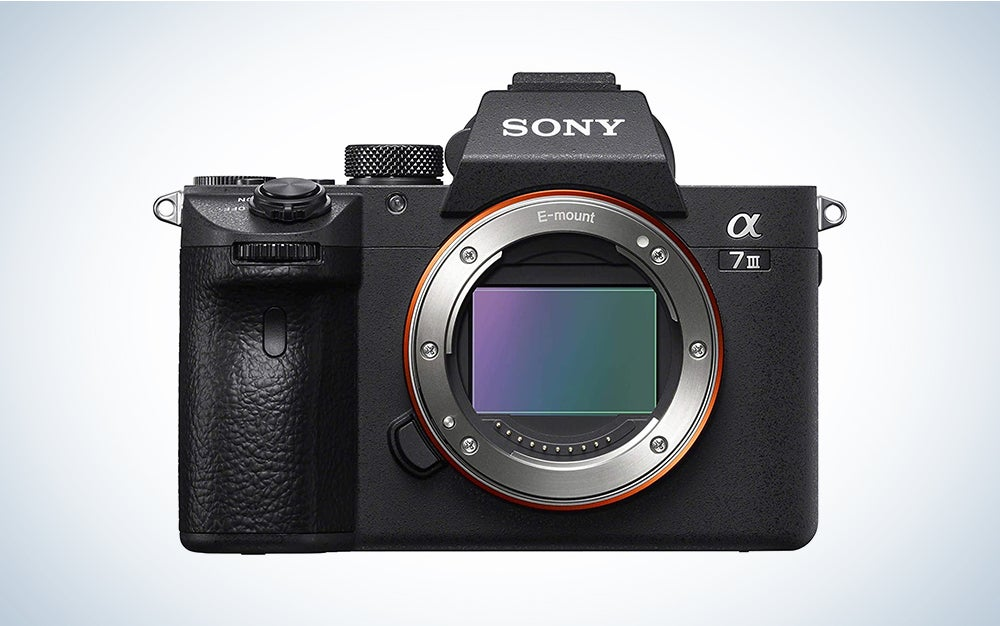Sony a7 III is our pick for the best sony camera