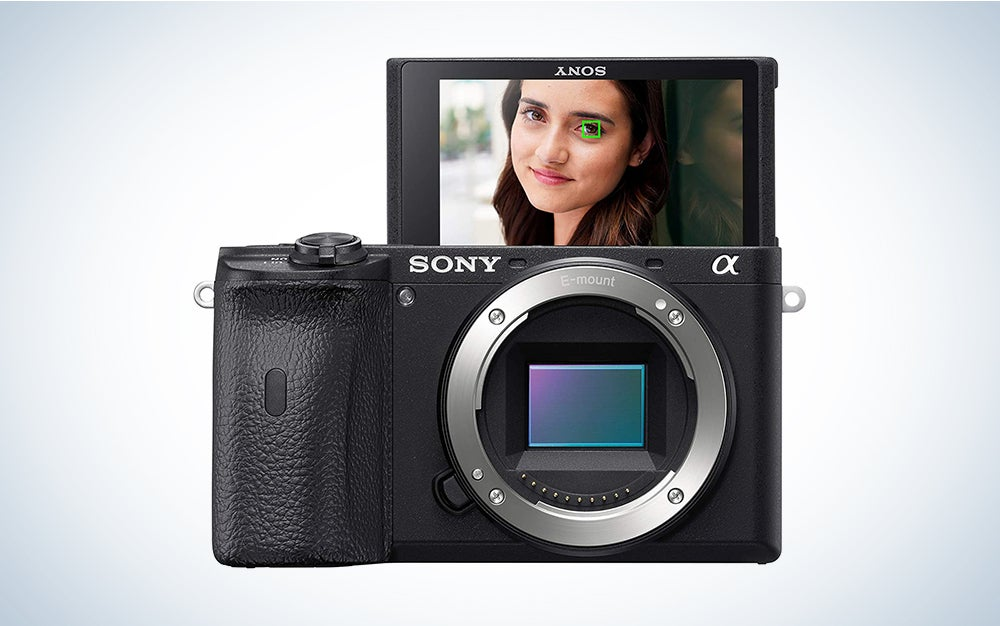Sony alpha a6600 is the best Sony camera for advanced amateurs.