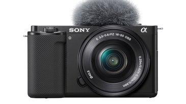 Sony ZV-E10 camera front