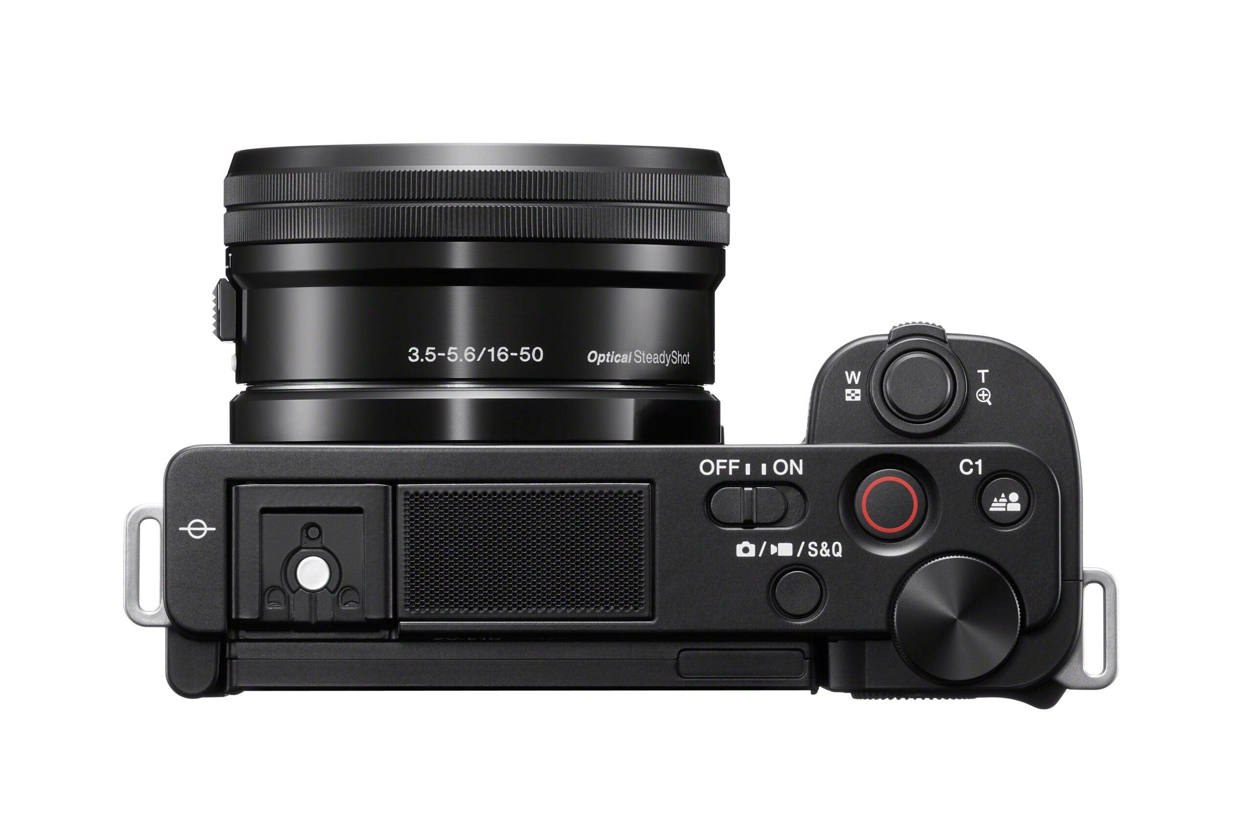 Sony ZV-E10 camera top