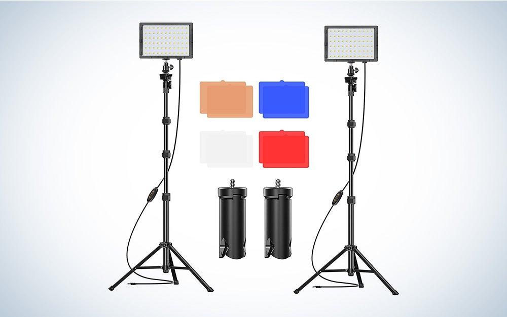 emart video is the best led light panel kit