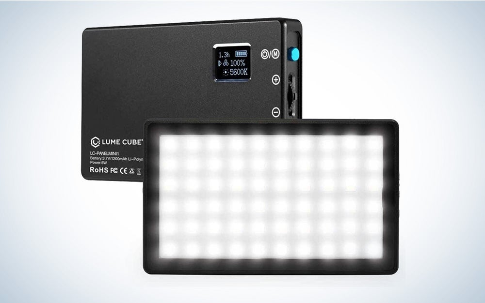 lume cube is the best led light panel.