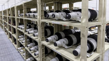 Canon lenses at the tokyo olympics