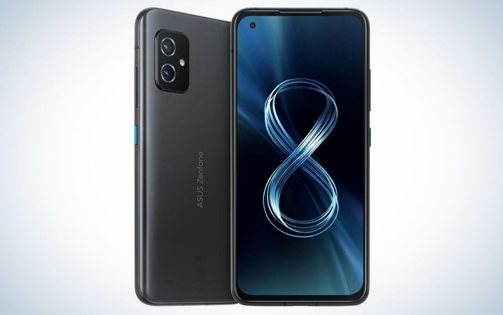 The Asus ZenFone 8 is the best small Android phone.