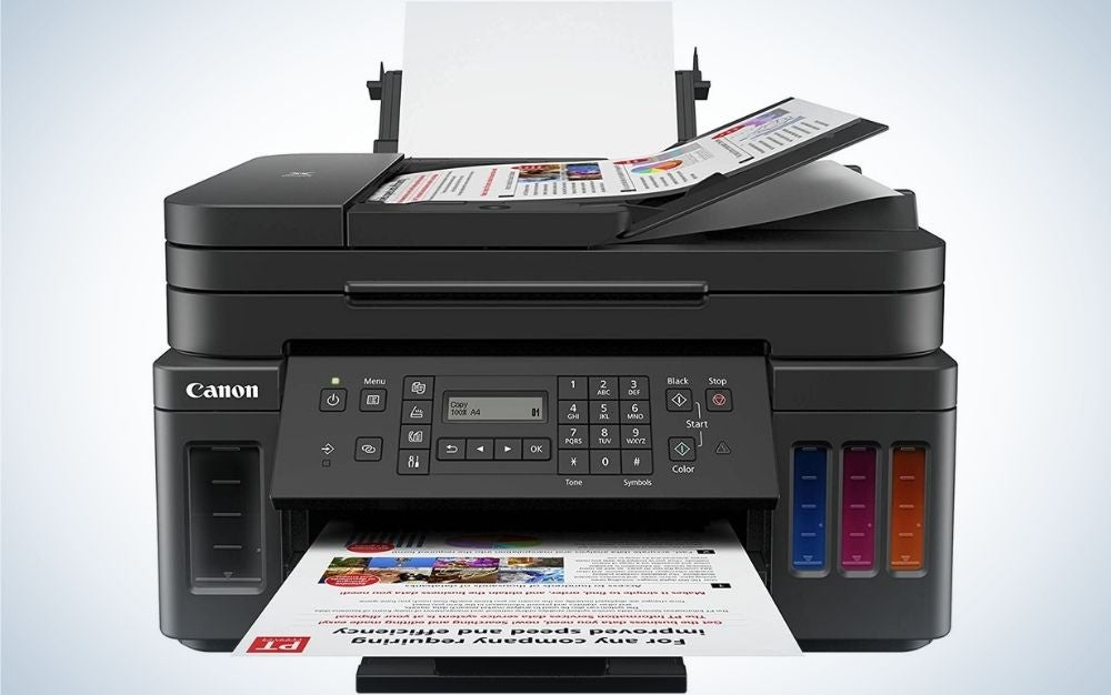 The Canon G7020 is the best canon printer.