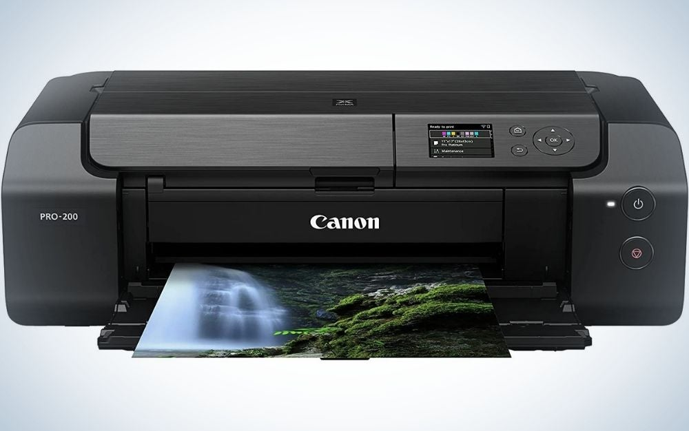 The Canon PIXMA Pro-200 is the best Canon printer for photos.