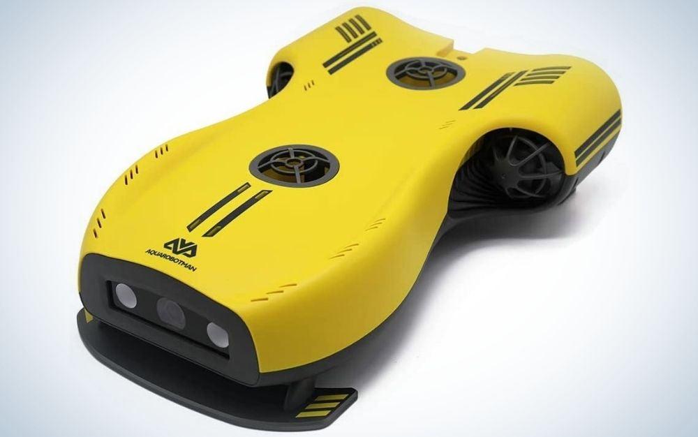 The Aquarobotman is the best underwater drone for still.