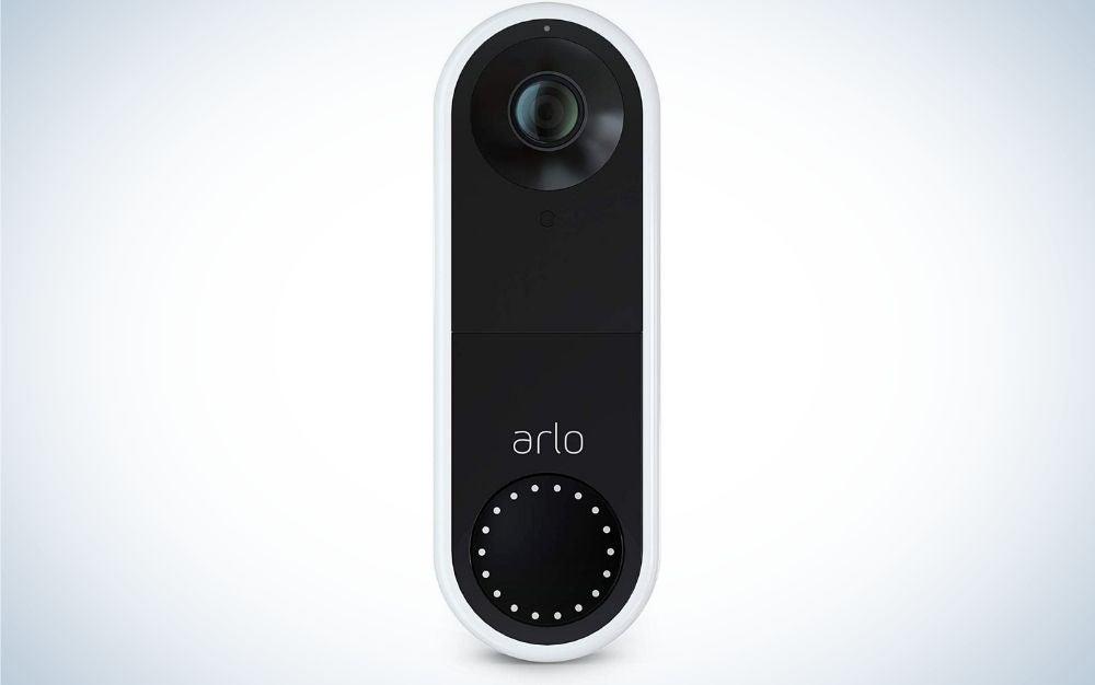 The Arlo Essential Video Doorbell is the best outdoor security camera system for your doorbell.